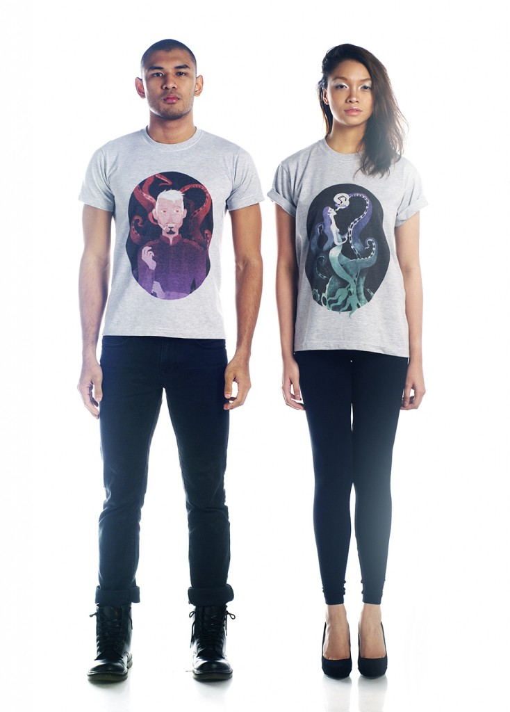 Check out the graphic shirts of Shapeshifter.