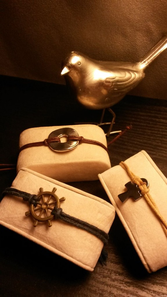 Cord and charm bracelets from PIRASO.