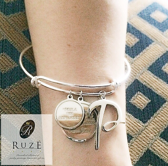 Custom silver charms on your bangle?  These would make lovely gifts.