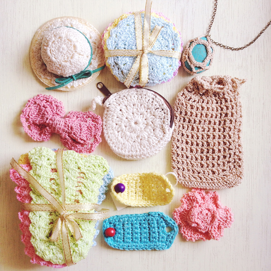 Check out these lovely crocheted goodies!