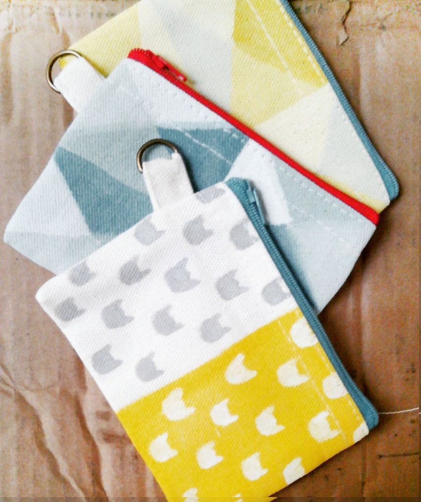 Handpainted pouches!  They aren't kidding when they say 'everything handpainted'.