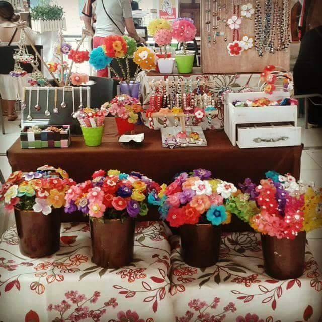 These blooms await you at this month's Maker's Market at Estancia!