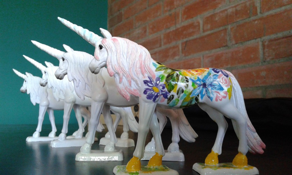 Who wouldn't love a hand painted unicorn?
