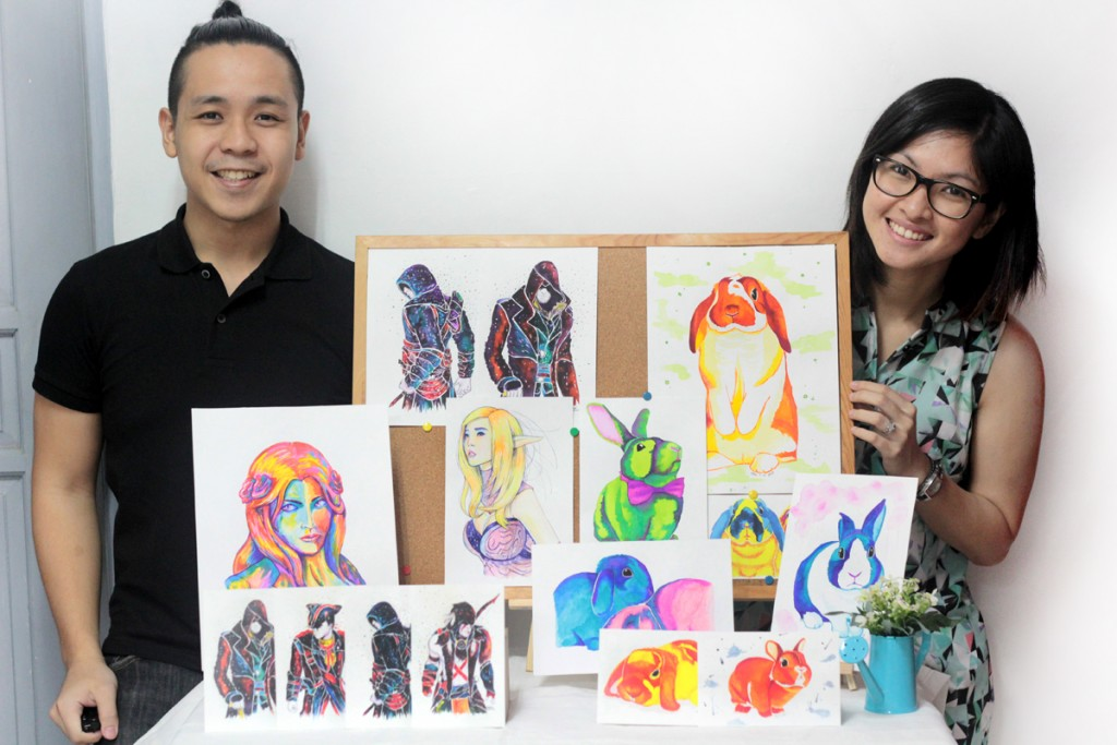 Meet Carlos and China, the creative duo behind Craft Bunny & CreativAssassin.