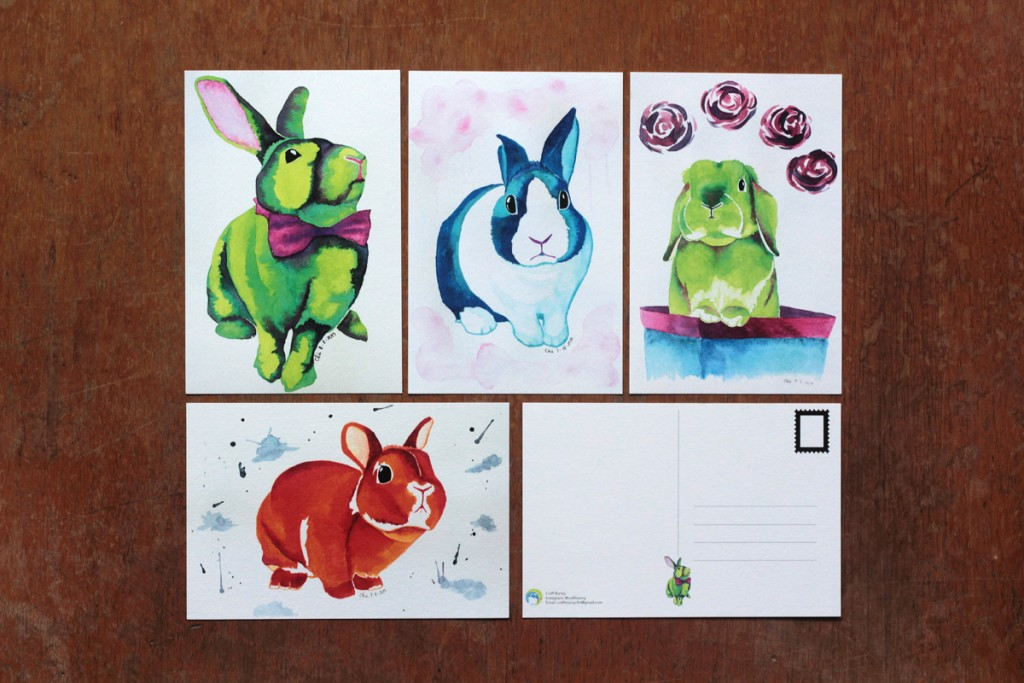 """China has always found it difficult to draw anything other than bunnies."" -- these bunnies are darned cute."