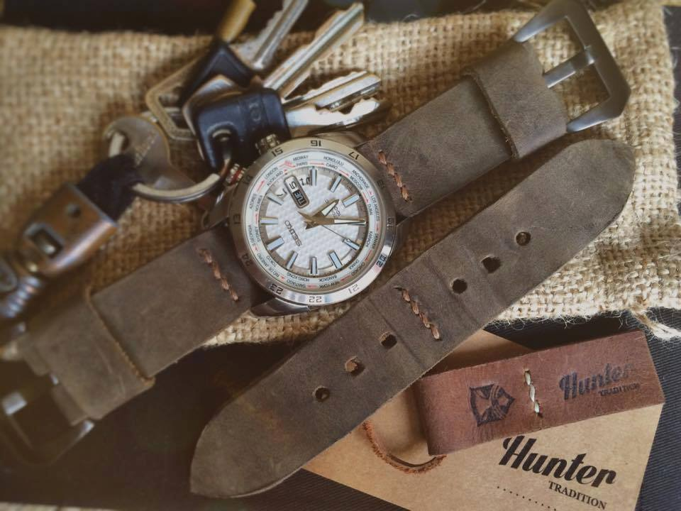 The search for the perfect leather straps for your timepieces is at an end, folks--we've got Hunter Tradition on board.