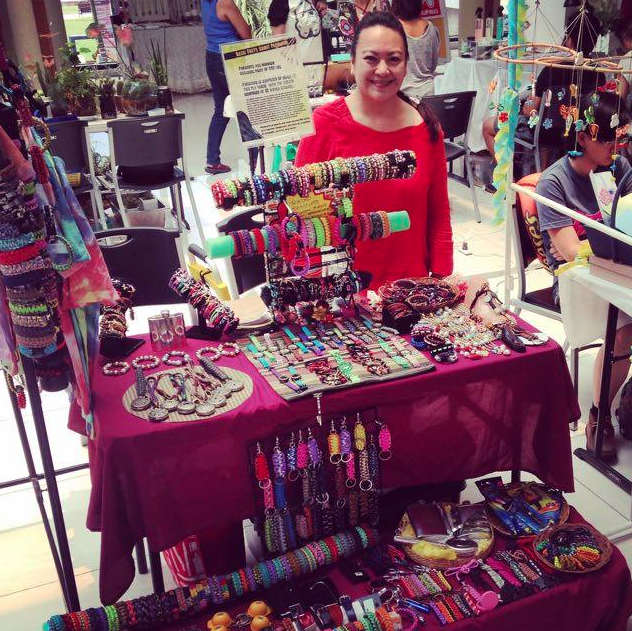 Meet Yvonne and her awesome paracord bracelets!  She's the woman behind Charmed Crafts.