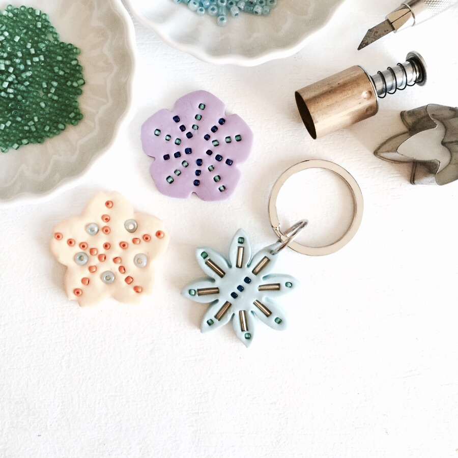 Make these pretty charms this weekend!