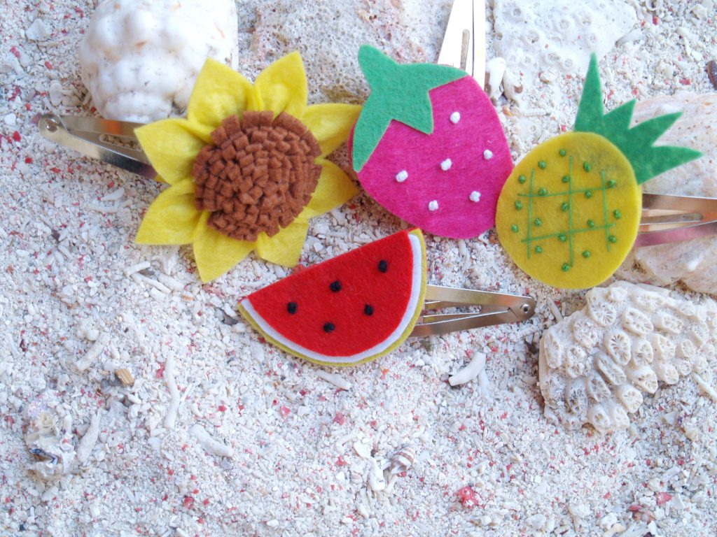 Fun, fruity and floral kiddie accessories!