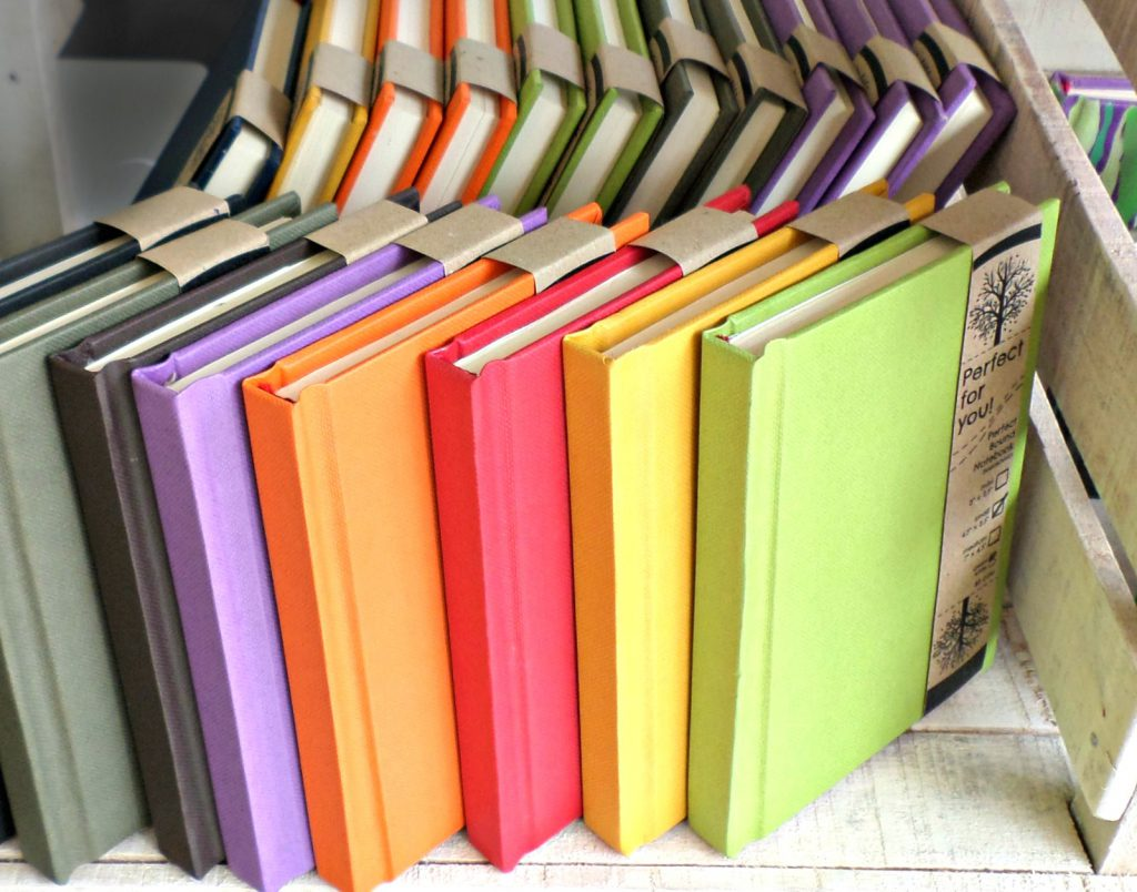 Expanding their product roster--perfect-bound journals!